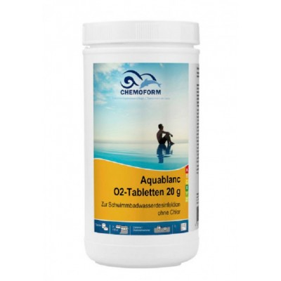 Активный кислород Chemoform Aquablanc O2 1 кг (таблетки 20 г)
