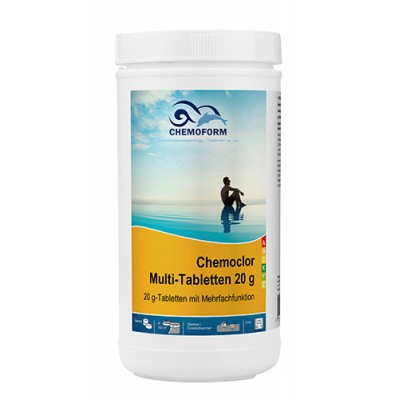 Chemoform Multitab 4 в 1 1 кг (таблетки 20 г)