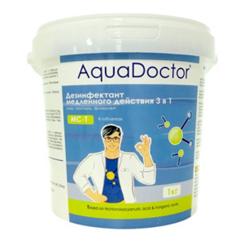 AquaDoctor MC-T 1 кг (таблетки 200 г) 3 в 1