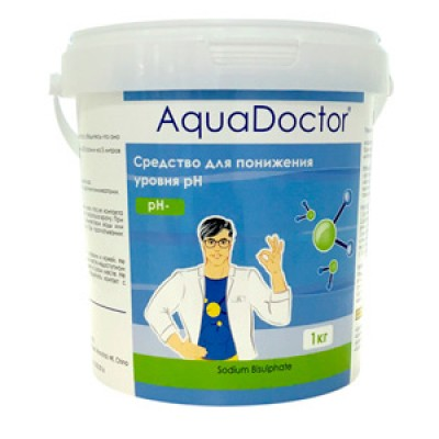 AquaDoctor pH Minus 1 кг (гранулы)