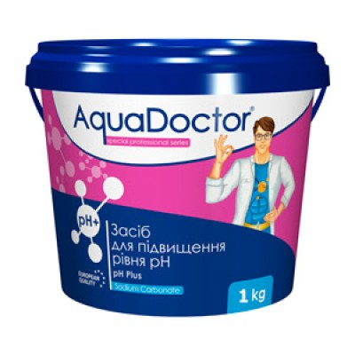 AquaDoctor pH плюс 1 кг (гранулы)